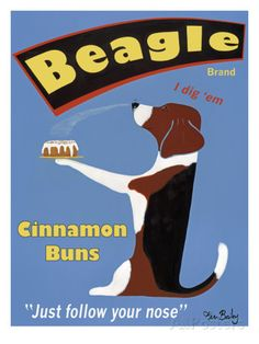 Beagle Buns Art by Ken Bailey at AllPosters.com