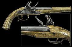 Una pistola de chispa de citas. Balcanes, segundo trimestre del siglo 19