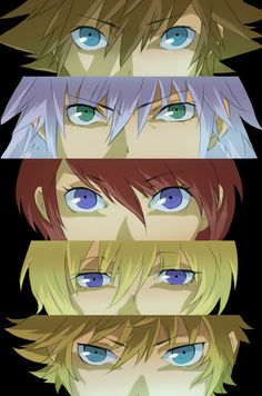 kingdom hearts | Tumblr  Sora  Riku  Kairi  (???)  Ventus