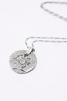 Shop Engraved Disc Necklace in Silver at Urban Outfitters today. Engraved Necklace, Disc Necklace, Watch Necklace, Ring Earrings, Purses For Sale, Purses And Bags, Vintage Bohemian, Women's Accessories, Urban Outfitters