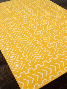 Tribal Hand-Woven Flatweave Rug from Rugs for Layering on Gilt