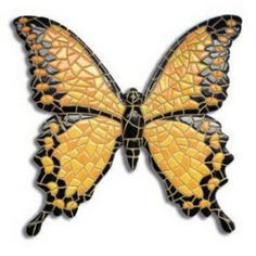 I can't believe it's not Butter-fly Mosaic! Mosaic Artwork, Mosaic Wall, Mosaic Glass, Glass Art, Stained Glass, Butterfly Mosaic, Mosaic Birds, Glass Butterfly, Mosaic Crafts