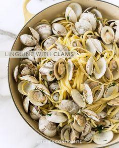 Linguine with Clams | Kitchen Confidante @Liren Baker | Kitchen Confidante