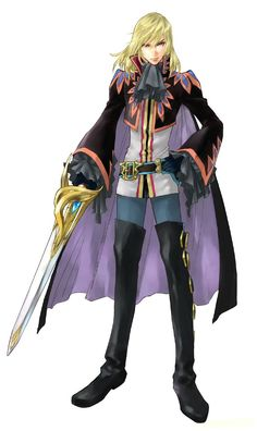 Tales of Graces - character art #TalesOf
