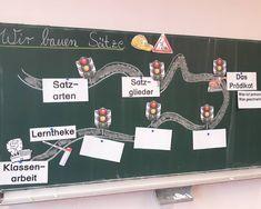 Der letzte Unterrichtsbesuch in Deutsch ist geschafft Ich habe mit den Kindern das Prädikat erarbeitet. Ich habe Bausteine mit…