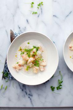 Shrimp soup.