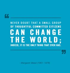 Never doubt it! Follow @Volunteer_LSU to join our small group of committed citizens! X #WeAreLove #grassroots #change