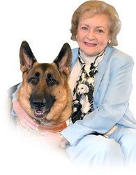 Betty White & GSD