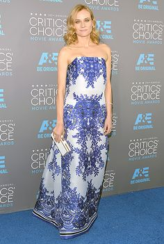 Diane Kruger 2015 Critics' Choice Awards
