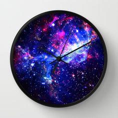Galaxy Wall Clock by Matt Borchert - $30.00