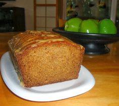 One Perfect Bite: Fresh Apple Bread with Caramel Glaze