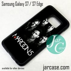 Maroon 5 Phone Case for Samsung Galaxy S7 & S7 Edge