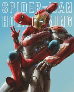 Awesome Spider-Man Homecoming art tag the artist of you know