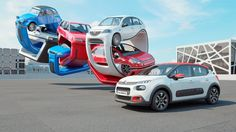 I was asked by Citroen to create a 3D sculpture that explored the genealogy of the new Citroen C3 car. Cars featured include the 2CV, Visa, AX, Saxo, C3 gen 1, C3 gen 2 and the new Citroen C3.    Client : Citroen  Production company : Continental Productions  Agent : Florence moll  Design and production : Chris Labrooy