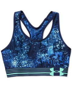 Under Armour HeatGear Alpha Printed Compression Sports Bra Join our List Under Armour Outfits, Nike Under Armour, Under Armour Women, Cheer Sports Bras, Cute Sports Bra, Sport Bras, Athletic Outfits, Athletic Wear, Sport Outfits