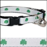 Georgia's new st. patty's collar-- she will be accompanying Frankie Jane to the Dubliner doing keg stands MEOW