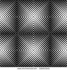 optical blur illusion seamless pattern by iconizer, via ShutterStock