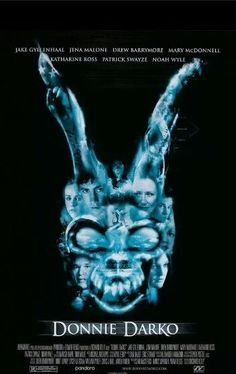 Donnie Darko Poster Movie 27 x 40 In - x Jake Gyllenhaal Jena Malone Drew Barrymore Mary McDonnell James Duval Maggie Gyllenhaal:. Patrick Swayze, Jake Gyllenhaal, Jena Malone, Best Indie Movies, Good Movies, Amazing Movies, Movies Free, Drew Barrymore, Love Movie