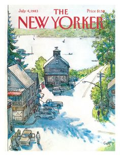 The New Yorker Cover - July 4, 1983  by Arthur Getz