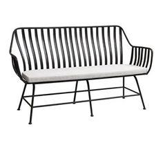 Dreamy bench - havebænk med hynde - 160 cm