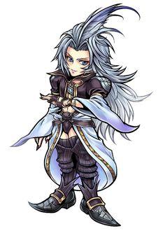 Kuja from Dissidia Final Fantasy Opera Omnia