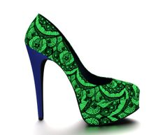 I love this custom design from Shoes of Prey! Design your perfect pair of shoes online now    shoesofprey.com nomo
