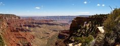 Grand Canyon north rim with Angels Window on the right (photo by E. Schoeman)
