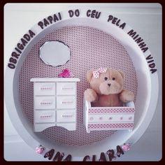 Quadrinho para o quarto do seu baby. - Encomendas 49 3567-0204 Scrapbook, Baby, Ticket Invitation, Bedroom, Scrapbooks, Newborns, Infant, Baby Baby, Doll