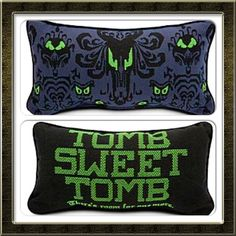 Haunted mansion pillow- Ya, had to get this too.