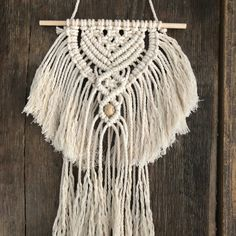 Min wandhanger Tassel Necklace, Dream Catcher, Tassels, Mini, Dreamcatchers, Tassel, Dream Catchers, Soft Leather, Fringes