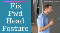Ultimate guide of how to fix forward head posture. Learn the causes, symptoms, and 5 best exercises to fixing forward neck posture. Correcting this bad posture will help you avoid future back pain and make you look better. Fix Your Posture, Better Posture, Bad Posture, Improve Posture, Posture Correction Exercises, Posture Exercises, Forward Head Posture Correction, Neck Stretches, Pinched Nerve In Neck