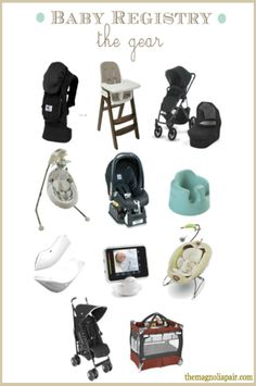 BABY REGISTRY: The Magnolia Pair