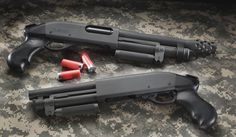 Serbu Super Shorty (can't go wrong with a 9 inch breaching shotgun)