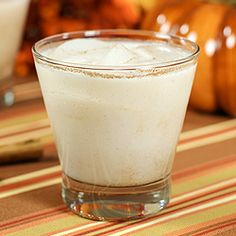 Autumn Spice Cocktail is made up of whipped vodka and hazelnut liqueur ...