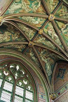 Palais Jacques Coeur à Bourges, la voûte de la chapelle