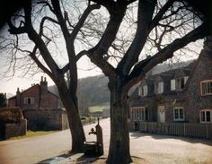 Before and After D-Day: Rare Color Photos From England and France, 1944 - LIFE. A small town in England just before D-day