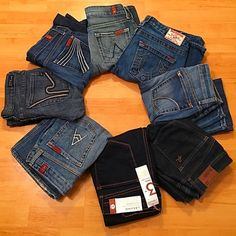 ❤️DENIM- HIGH END❤️ Sizes 24 - 32 ✨🎀✨🎀✨🎀 Size VARIETY!!!! Open to reasonable offers!!!! 7 for all Mankind Jeans