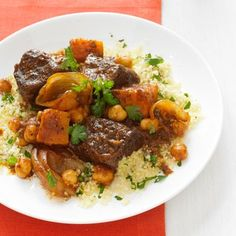 Make beef stew with butternut squash instead of potatoes for a fall-inspired meal. Recipe: Spiced Beef and Butternut Squash Stew - Delish.com