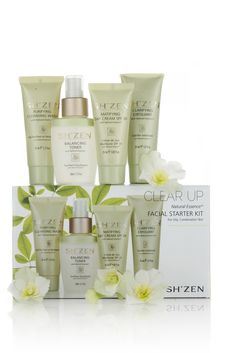 A clear start with our Clear Up Natural Essence Facial Starter Kit... http://bit.ly/1StJyCK