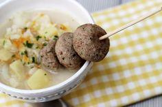 Indycze pulpeciki z natką pietruszki | Blog kulinarny Zakochane w Zupach.pl