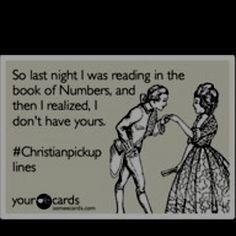 Christian pickup lines