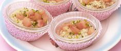 Salade sucrée de quinoa à la rhubarbe 20 Min, Potato Salad, Potatoes, Ethnic Recipes, Food, Quinoa Salad, Recipe, Eten, Potato