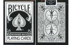 Bicycle Black Reverse Playing Cards. #poker #playingcards #poker #games