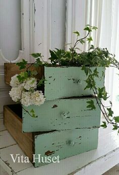 Don't forget to re-use old drawers.