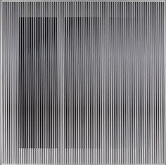 """Physichromie 1887"" by Carlos Cruz-Diez (2014) #CarlosCruzDiez #CruzDiez #contemporaryart #contemporary #kinetic #art #opart #visualart"