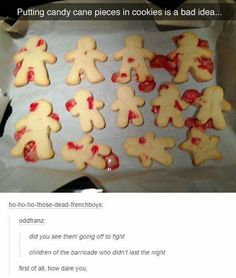 That beautiful moment when the Les Miserables fandom hijacks a Tumblr thread....