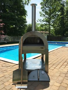 Buy commercial Grade Stainless Steel Wood Fired Pizza Oven by ilFornino New York at the affordable price range.