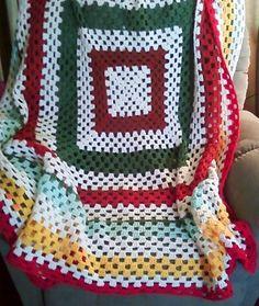 granny square crochet instructions༺✿Teresa Restegui http://www.pinterest.com/teretegui/✿༻