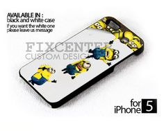 Minion Despicable me case for iPhone 4/4S iPhone 5 Galaxy S2/S3/S4 | FixCenter - Accessories on ArtFire