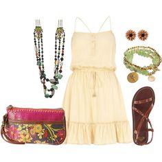 """Boho Dress"" by loveisforgirls on Polyvore"